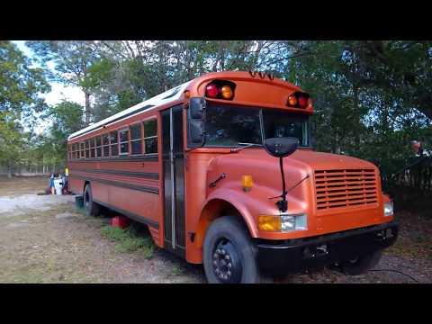 School Bus Conversion -