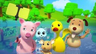 Времена года песня для детей | Питомник рифмы | Детские песни | Seasons Song | Toddlers Songs