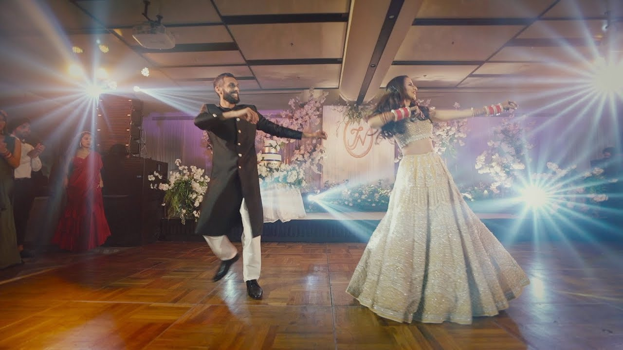 Best 2019 Surprise Dance Performance Bride Groom Natasha Jaspreet S Wedding