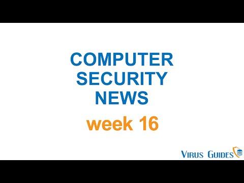 Virus Guides' Computer Security News Week 16