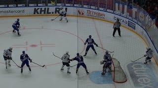 СКА 3:2 Динамо Москва с трибуны Ледового дворца