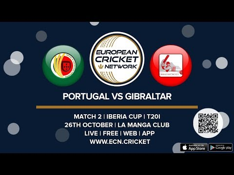 Iberia Cup, Match 2  - Portugal vs Gibraltar - T20I Cricket