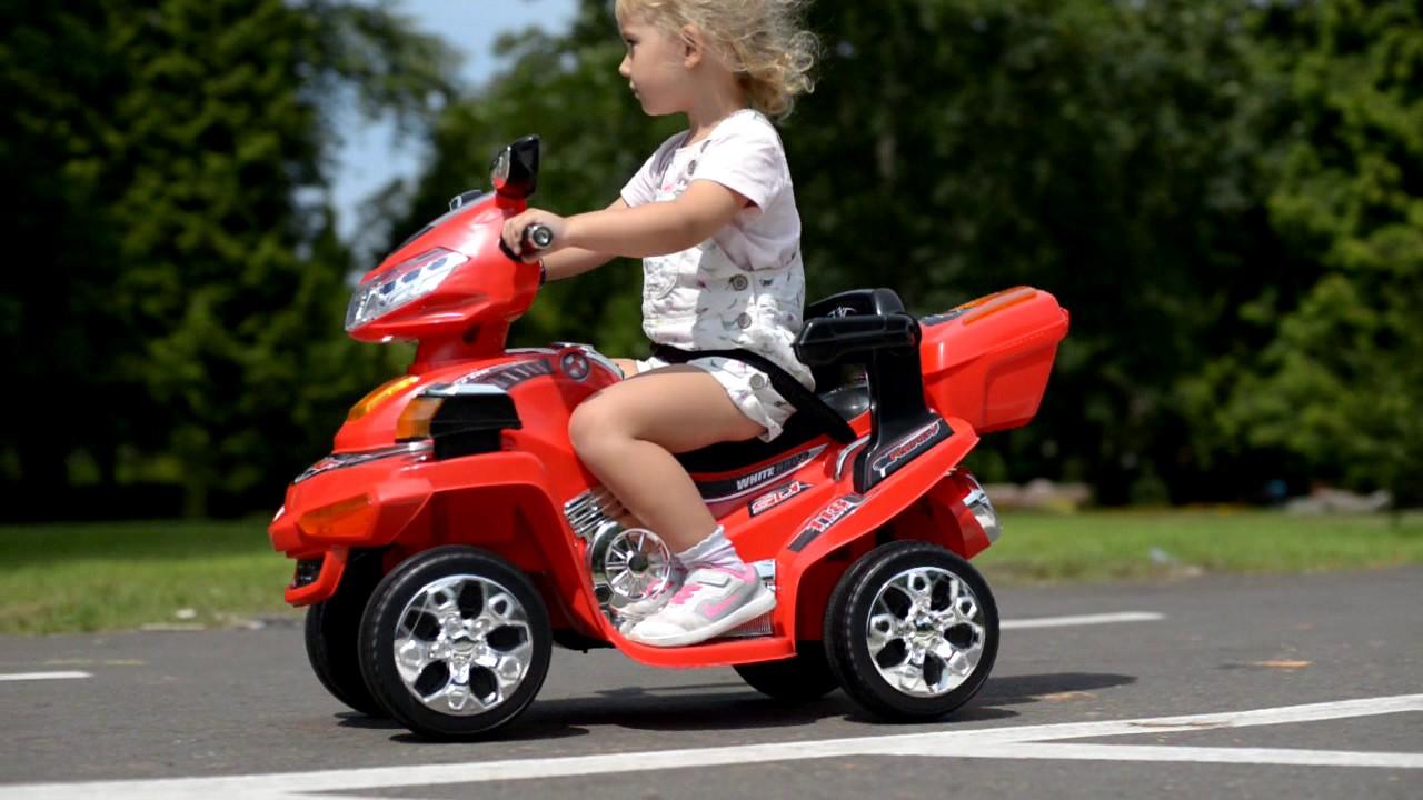 Dodatkowe Pojazd elektryczny, na akumulator SKUTER QUAD | BABYMAXI - YouTube SH18