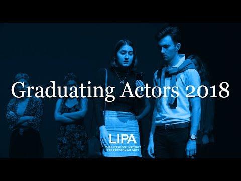 LIPA Graduating Actors Showcase 2018