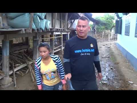 ชนบทเชียงตุง พม่า Kengtung  trekking Shan State Myanmar house village