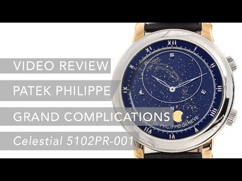 Pre Owned Patek Philippe Grand Complications Celestial 5102PR-001 Luxury Watch Review