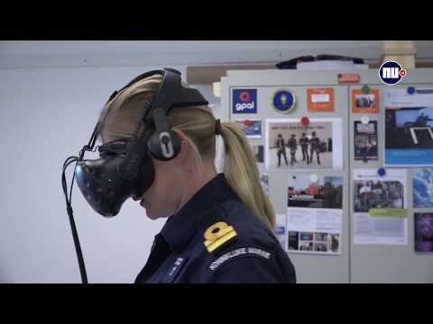Zo zet de marine virtual reality in