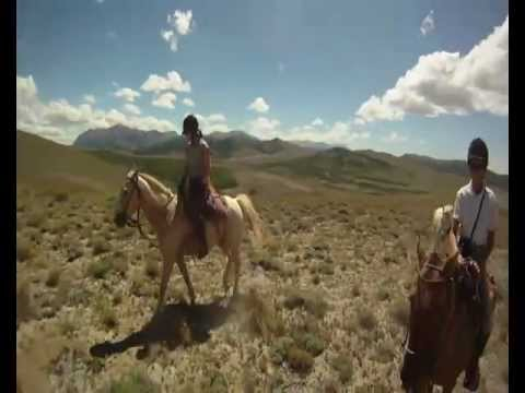 Horse Ride in Patagonia.