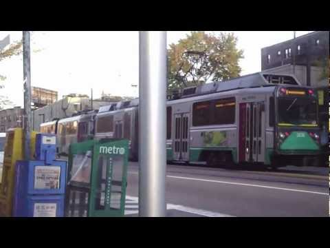 30 Minutes of the Light Rail line in Boston (MBTA)