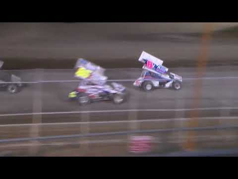 Zac Taylor ASCS 360 Debut Sweetwater Speedway 8 18 17