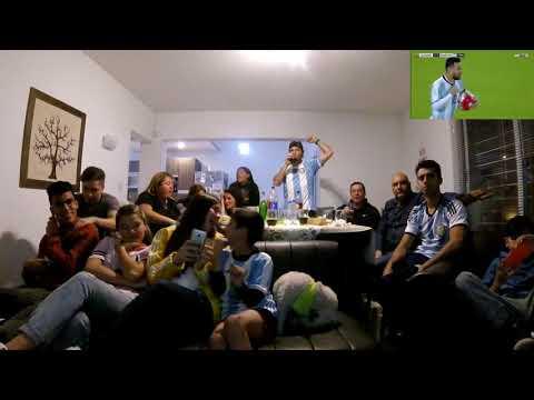 ||REACCIONES|| ELIMINATORIAS MUNDIAL RUSIA 2018|| ECUADOR 1 VS ARGENTINA 3||