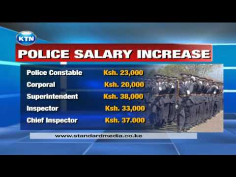 Police salary hikes