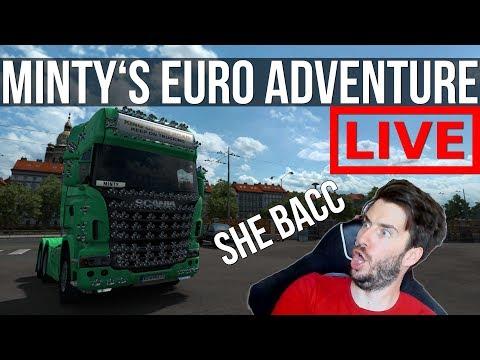 Euro Truck Simulator - Minty's European Adventures