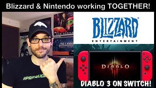 Blizzard & Nintendo working together! Diablo 3 confirmed for Switch! | Ro2R