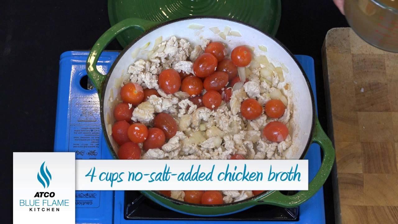 Atco Blue Flame Kitchen Tomato Chili Rosc Pasta Youtube