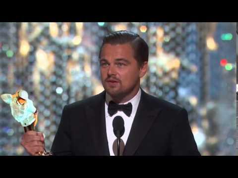 Oscars 2016 Leonardo DiCaprio Wins best Actor