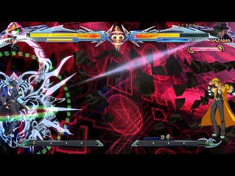 BlazBlue Chronophantasma Extend: Unlimited Terumi vs Unlimited Hazama [Hell Difficulty] |