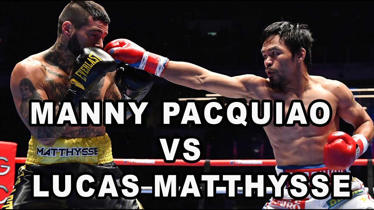 Manny Pacquiao vs Lucas Matthysse | July 15, 2018