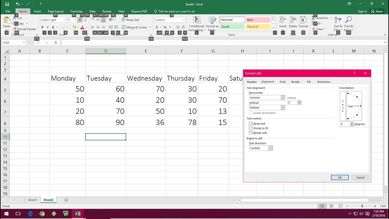 MS Excel All Important Keyboard Shortcut Keys for Excel 2003 to ...