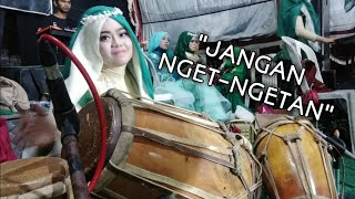 KENDANG JAIPONG CEWEK JANGAN NGET-NGETAN cover by MILJAY