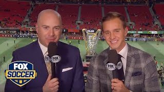2018 MLS Cup Postgame Show | FOX SOCCER