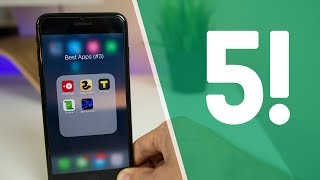 Top 5 BEST iOS Apps (That You'll Actually Use)! | Best iPhone Apps of 2017 #3