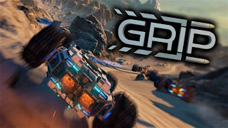 Grip Gameplay - Futuristic Combat Racing with Amazing Music (Inspired by Rollcage) (Let