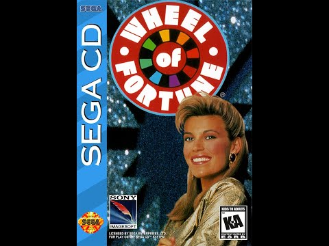 Sega CD Wheel of Fortune ORIGINAL RUN Game #12