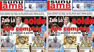 Gris avec Eumeu Sène et Papa Sow avec Modou Lô... Revue de presse Lutte TV du 24 mai 2019