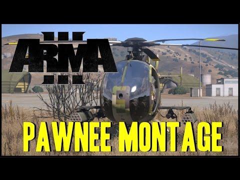 Arma 3 - Pawnee Montage