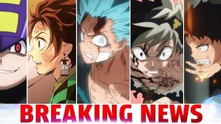 Black Clover Creator UPSET With Anime, MHA Takes Another W, Demon Slayer Movie, Fire Force, Uzumaki!
