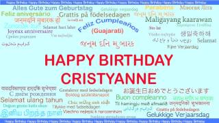 Cristyanne   Languages Idiomas - Happy Birthday