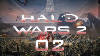 Halo Wars 2 PC #02 A NEW ENEMY - Gameplay / Let's Play