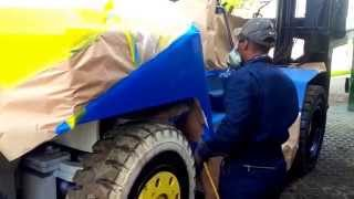 Heavy Equipment Painting- Nationwide - Mobile Services