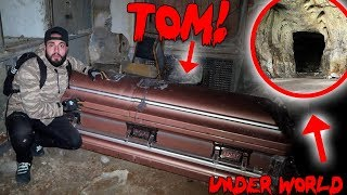 I TUNNELLED INTO THE UNDERWORLD at 3AM & FOUND TOMS HAUNTED COFFIN! | MOE SARGI