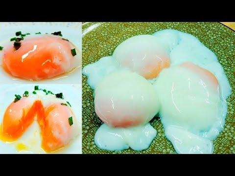 วิธีทำไข่ออนเซ็น ง่ายมาก ไข่แดงเด้งเหนียวหนึบ ไข่แดงครีมมี่ น่าทานสุดๆ  กาญทำได้ทุกคนทำได้