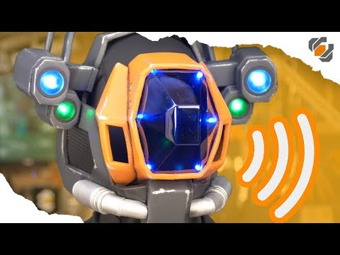 How to Install a Cheap Voice Modulator in Your Costume - Destiny Sweeper Bot Build