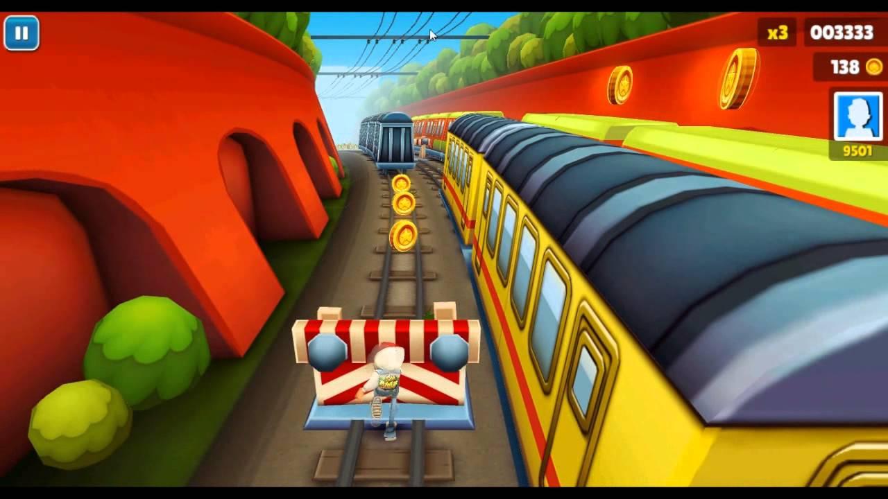 игра девочка бегает по паровозам без регистраций