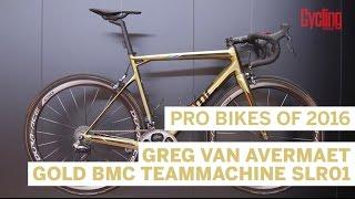 Pro Bikes of 2016: Greg Van Avermaet's gold BMC Teammachine