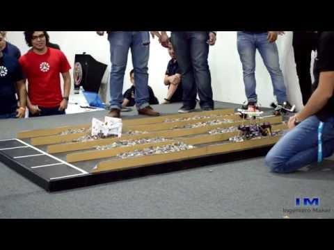 3er Competencia de Robótica (Carrera de insectos 1)