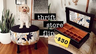 DIY Thrift Store Decor $30 Budget // THRIFT FLIP 2019