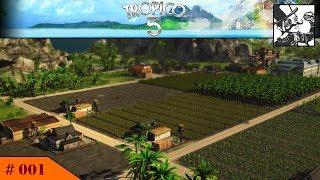 Tropico 5:  #01 Building a small Farming Paradise!