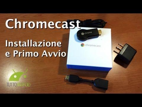Chromecast, Guida all