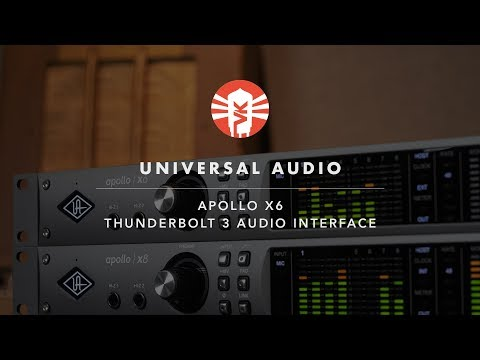Universal Audio's New Apollo X w/ Thunderbolt 3 and HEXA Core