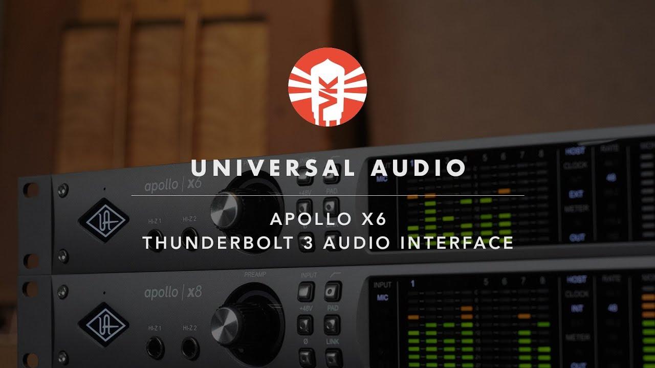 Universal Audio Apollo x6   Thunderbolt Audio Interface   Vintage King