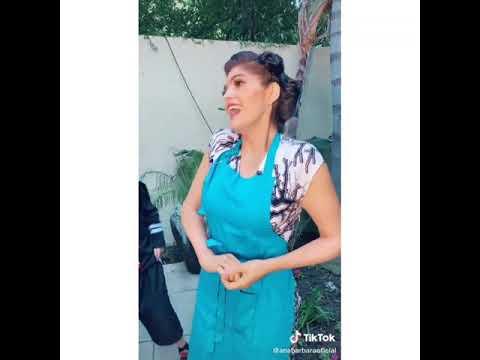 Ana Bàrbara  es Doña Florinda Meza #lLeHizoMalElEncierro??? tiktokVideos Sus hijos Divertidos?