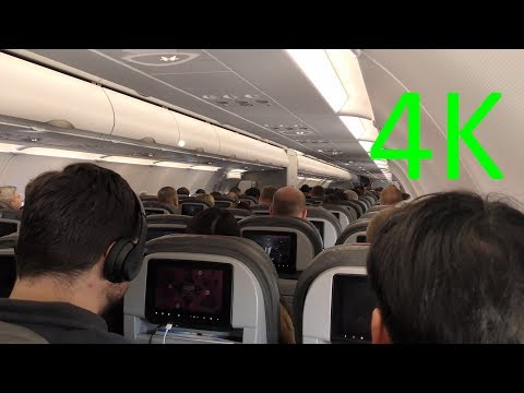 (4K) AA A321 From DFW To AUS (Dallas To Austin)--Plane Trip Video