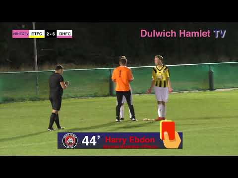 Erith Town U18s 2-10 Dulwich Hamlet U18s, FA Youth Cup Prelim Round, 04/09/17   Match Highlights