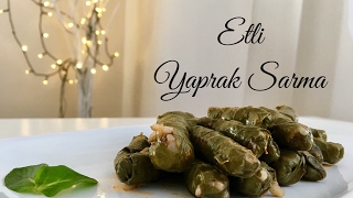 Etli Yaprak Sarma - Pratik Tarif / Yemek Tarifleri - Melis'in Mutfağı