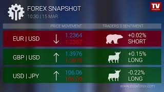 InstaForex tv news: Forex snapshot 10:30 (15.03.2018)